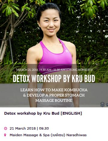 Detox Workshop by Bud