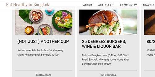 สำรวจร้านดินเนอร์ในกรุงเทพมหานครได้ที่ eathealthybkk.com